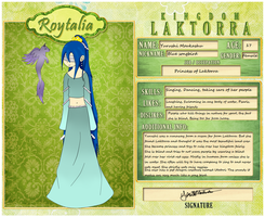 Roytalia Application by Kurosu-Commishes