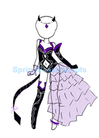 Outfit Adopt Auction CLOSED by SpringPeachAdopts