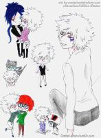 Byakuran couples by vampireotakuhime-san