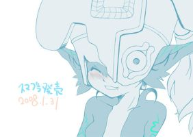 Smiling face by dogear-jp