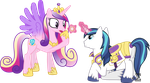 Shining Armour Proposes to Princess Cadance by 90Sigma