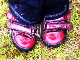 Cute Red Shoes by MaeveHumphreys