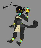 Pokemorphs-Amunet the Yamask by Inkblot-Rabbit