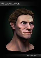 Willem Dafoe Sculpt - Polypainted by EliteRocketbear