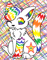 Rainbow Kitty Aution-Closed by flaries