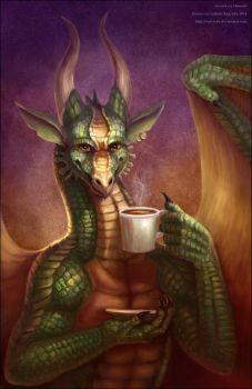 Tea or Coffee? by Red-IzaK