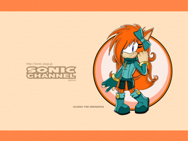 Sonic Channel Aliona by Dody-Inferno