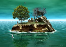 The last island 2 by robhas1left