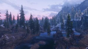 Sunrise near Markarth by lupusmagus