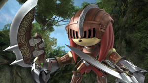 Knuckles: Sir Gawain by Light-Rock