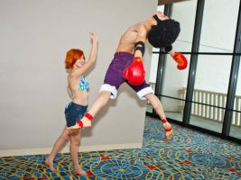 Afro Luffy Cosplay Momo-con 2012 by CKOanime