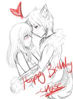 Happy Birthday Jess by TeaCup-Monster