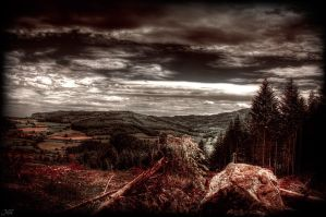Desolate mountain by John-Genova