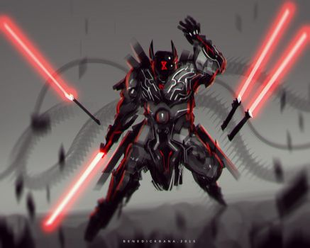Sith Lord DARTH UR by benedickbana