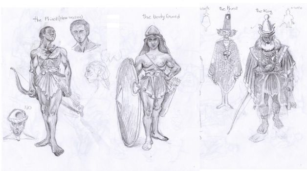 ancient civ sketches by niconosave