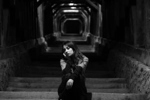 lonely stairs by simonamoon