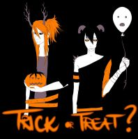 .Treat or Treat. - 2k9 by Little-Groove-Girl