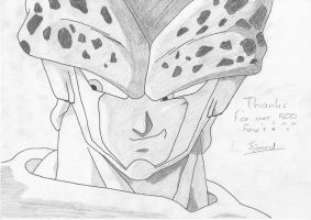 Cell says thank you by Pantheiros