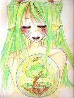 The world of Yggdrasil by Claire1998