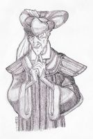 Frollo Smitten (Shadowed Concept Art) by yami0815