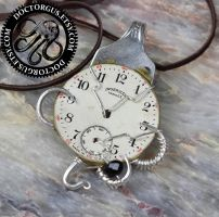 Steampunk Fork Pendant # 2 by Doctor-Gus