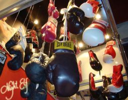Boxing gloves by Nic1ky