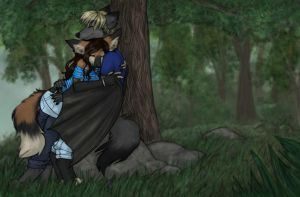A Break From Hiking by LadySilvie