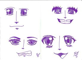 manga faces by spectra-night