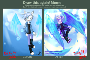 Meme  Before And After by Xebiux