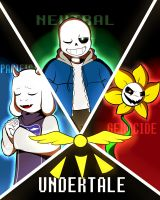 [Undertale] The Three Fates by XandyRox246