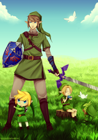 LoZ medley by GhostlyBuu