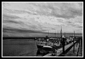 Carrick harbour by roxiannie