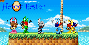 Happy Easter by R-CoMiX