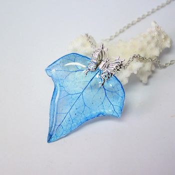 Blue Ivy necklace by fion-fon-tier