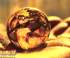 Pokeball of Naruto Uzumaki by Jonathanjo