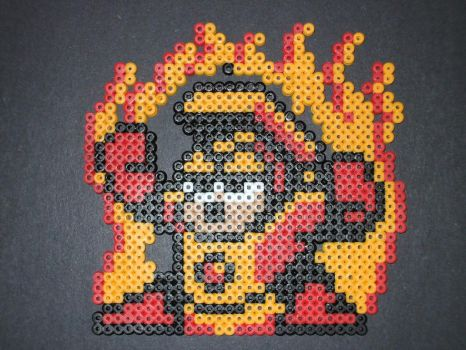 Perler Heatman by NES--still-the-best