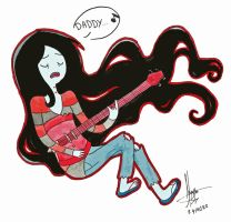 Marceline singing the song by nay-only
