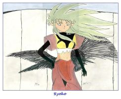 Ryoko at my college by sakivibe