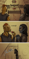 Skyrim - Courtship by yinza