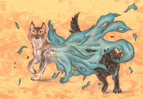 Wolves by BriannaTWedge