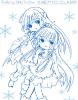 chobits-Twins by Toriichi