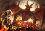 MLP demon lord YCH CLOSED by ElkaArt