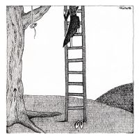 Leave your shoes by the ladder by misskeima