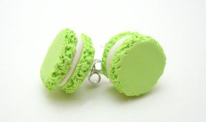 Macaroon Studs by SmallCreationsByMel