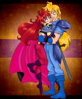 Lina and Gourry by Tell-Me-Lies