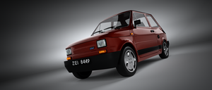 Fiat 126p by Pinionist