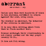 01. Aberrant by sweet-potato-ocarina