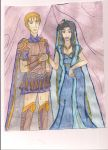 Roman General and His Lady by Rasetsu-nyo