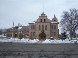 Summit County Courthouse, Coalville, Utah by Raptorguy14