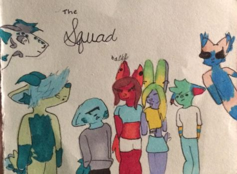 The Squad by fandomlover10